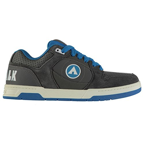 Airwalk Kinder Throttle Skate Sportschuhe Grau/Blau