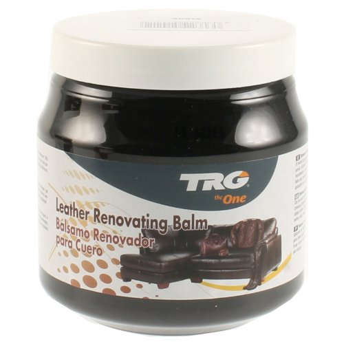 TRG Leather Renovating Balm Black 300ml for All Leather Materials Sofas, Leather Furnituter Etc. (Sofa $300)