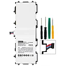Samsung Galaxy Tab 2 10.1 Tablet Battery SDTB-P710 Li-Pol Battery - Rechargeable Ultra High Capacity (Li-Pol 3.7V 7000 mAh) - (not for the Galaxy note 10.1 2014 model) Replacement For Samsung SP3676B1A Tablet Battery - Installation Tools Included and Come