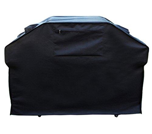 Kee Brown@ abdeckung grill Grillabdeckung Wasserdicht BBQ Grill-Abdeckhaube Abdeckung Haube Schutzhülle für Gasgrill Grill (136 x 64 x 116 cm) (schwarz)