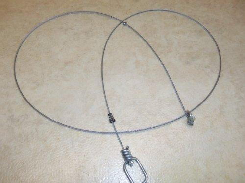 1 Dz. Hilltop Outdoor 60 Inch 3/32nd Washer Lock Snares