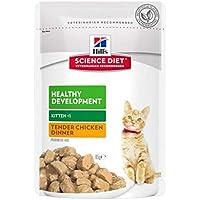 Hill's Science Diet Kitten Healthy Development Chicken Pouches Cat Food 85g