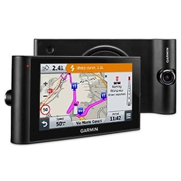 Garmin Dezl-Cam LMT-D Navigatore per Autocarri con Dash Cam Integrata Nero Aggiornamento Mappe a Vita e Infotraffico TMC DAB