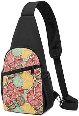 蜜柑 斜め掛け ボディ肩掛け ショルダーバッグ ワンショルダーバッグ メンズ 多機能レジャーバックパック 軽量 大容量