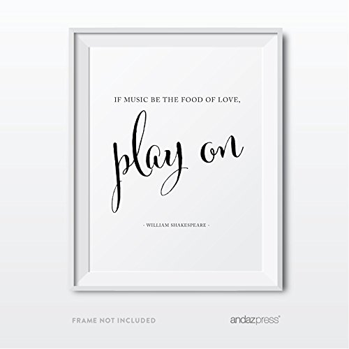 Andaz Press Wedding Love Quote Wall Art, Black and White Print, Poster, Gift, Sign,