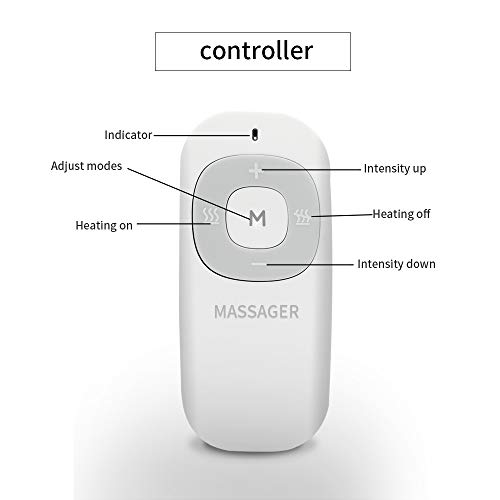 Yicksing Neckology Intelligent Neck Massager with Remote Controller More Stronger Deep Tissue Neck Massage, 6 Modes 15 intensity Intelligent Neck Massager Design to Relieve Neck Soreness