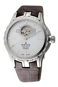 Edox Men's  85008 3 AIN Open Heart Automatic Grand Ocean Watch