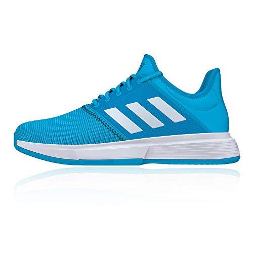 adidas Gamecourt Men€Âs Tennis Shoes, Blue, US10.5