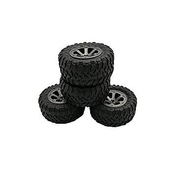 Coomir 4 piezas de ruedas de repuesto para 1/16 WPL B14 C24 camión ...