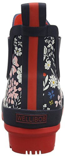 Joules Women's Wellibob Rain Boot French Navy Ria Ditsy low shipping cheap online real online sale best wholesale clearance finishline oVEzfpFM5F