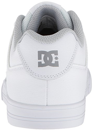 Pictures of DC Pure Elastic Skate Shoe White 5 M US Big Kid ADBS300385 8