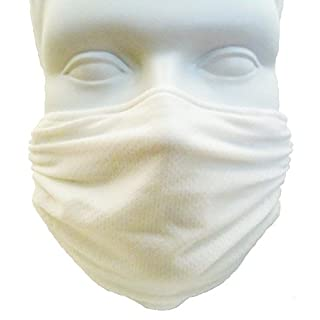 Breathe Healthy Honeycomb Face Mask - (White)