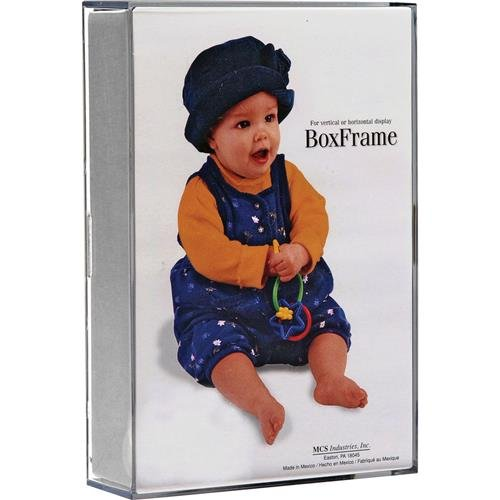 Mcs Box Frame (MCS Original Clear Acrylic Box Picture Frame for a 8x10
