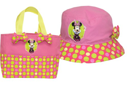 Disney Minnie Mouse Hat and Tote Combo Pack, MY14P07, Size: ()