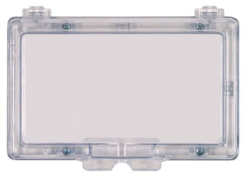 Safety Technology International STI-6550 Widebody Keypad Protector without Lock - Flush Mounted Clear Polycarbonate Enclosure by Safety Technology Intl