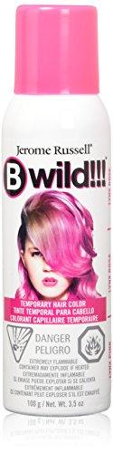 Color Hair Spray (jerome russell B Wild Color Spray, Lynx Pink, 3.5 Ounce)