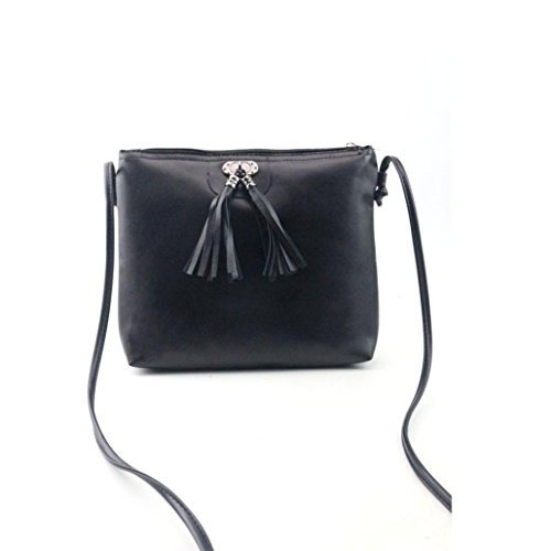 Women Mini Handbag,Kaifongfu Fashion Tassel Shoulder Bag (Purs And Handbag Patterns)