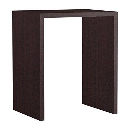 arne カウンターテーブル バーテーブル セミオーダー 日本製 幅70cm 奥行55cm 高さ90cm 会議テーブル 机 テーブル 木製 Zero-X 7055HH ナチュラル B079KZL5HJ 幅70×奥行55,ナチュラル