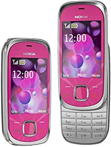 هاتف نوكيا 7230 منزلق ونحيف، 100% موبايل اصلي غير مفقل، اصدار عالمي. شريحة اتصال واحدة 002P831