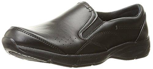 Dr. Scholl's Shoes Women's Establish Uniform Dress Shoe, Black, 7.5 W US