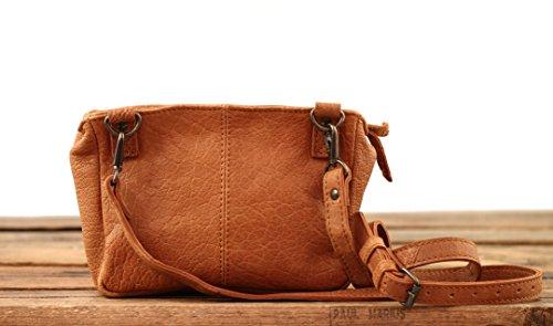 LE GAVROCHE Color Arena pequeño bolso de cuero de estilo vintage PAUL MARIUS