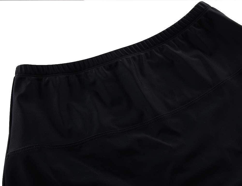 coastal rose Womens Swim Skirt High Waist Bikini Bottom Tankini Skirted Bathing Suit Bottom