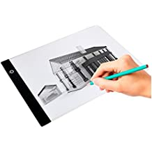 (ELICE) Tracing Light Box, A4 Led Drawing Tracing Board Portable Led Light Pad of USB Interface and Super Thin Drawing Light Box Pad Ultra-Thin Copy of The Table