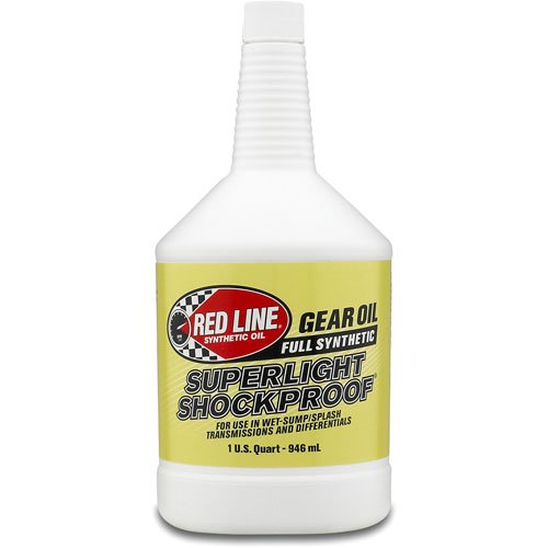 Red Line 58504 Superlight Shockproof Gear Oil (Pack of 12) by Red Line Oil