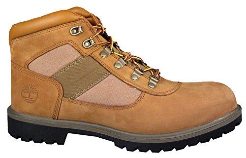 Timberland Botas De Montaña Para Hombre 6300r Newmarket Camp Lt Brown Canvas