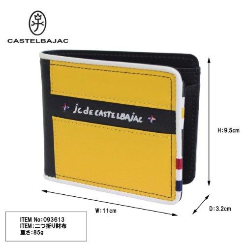 Drapeau Bi wallet Drapeau Bi CASTELBAJAC fold CASTELBAJAC 093613 Navy 7Fn6f