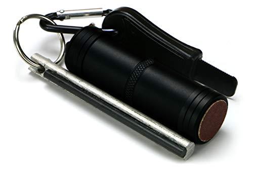 EDC-Feuer-Set, zuverlässig, einfach zu tragen, zur Feuer-Erzeugung unter allen BedingungenHergestellt in Großbritannien.
