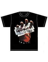 Judas Priest T Shirt British Steel Band Logo Album Cover Official Mens New Black