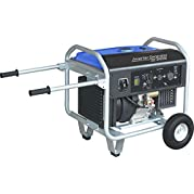 SILENT CHOICE 6500W Remote Start Open Frame Protable Inverter Generator with Wheels