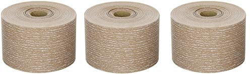 Norton A275 No-Fil Adalox Abrasive Roll, Paper Backing, Pressure Sensitive Adhesive, Aluminum Oxide, Waterproof, Roll 2-3/4'' Width x 45yd Length, Grit 320 (Pack of 1) (3-(Pack))