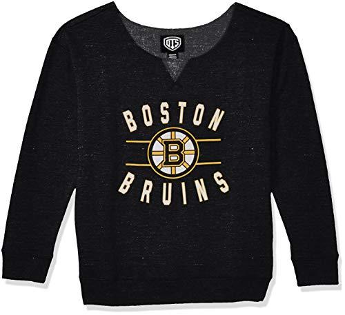 Boston Bruins Ladies Hoody Sweatshirt - 4