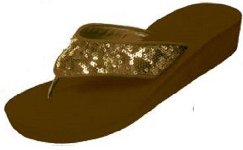 Flip 2307 Sandals Brown Womens Fashion W Bay Flop Thongs Wedge The Stones OwRqfY474
