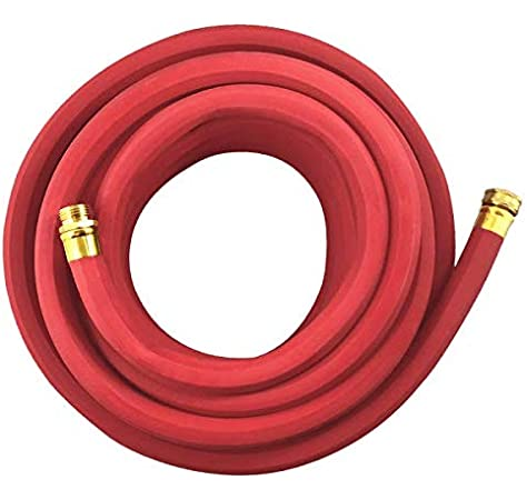 Red 2 Pack Gilmour 840751-1002 Pro Commercial Hose 3//4 inch x 75 feet