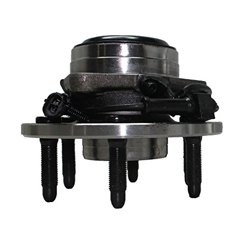 Detroit Axle - Front Driver or Passenger Side Wheel Hub and Bearing Assembly - RWD Models Only