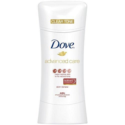 Dove Advanced Care Antiperspirant ClearTone Skin Renew 2.6 oz(Pack of 12)