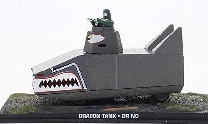 Amazon com: Dragon tank, James Bond 007, Model Car, Ready