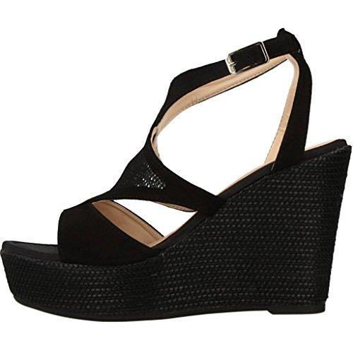 Unisa Sandalen/Sandaletten, Farbe Schwarz, Marke, Modell Sandalen/Sandaletten MATRIZ KS Schwarz Schwarz