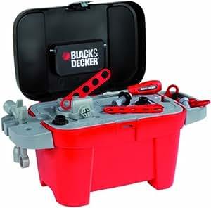 Smoby Black&Decker 2 in 1 Box - juguetes de rol para niños (Household, Niño, Multi)