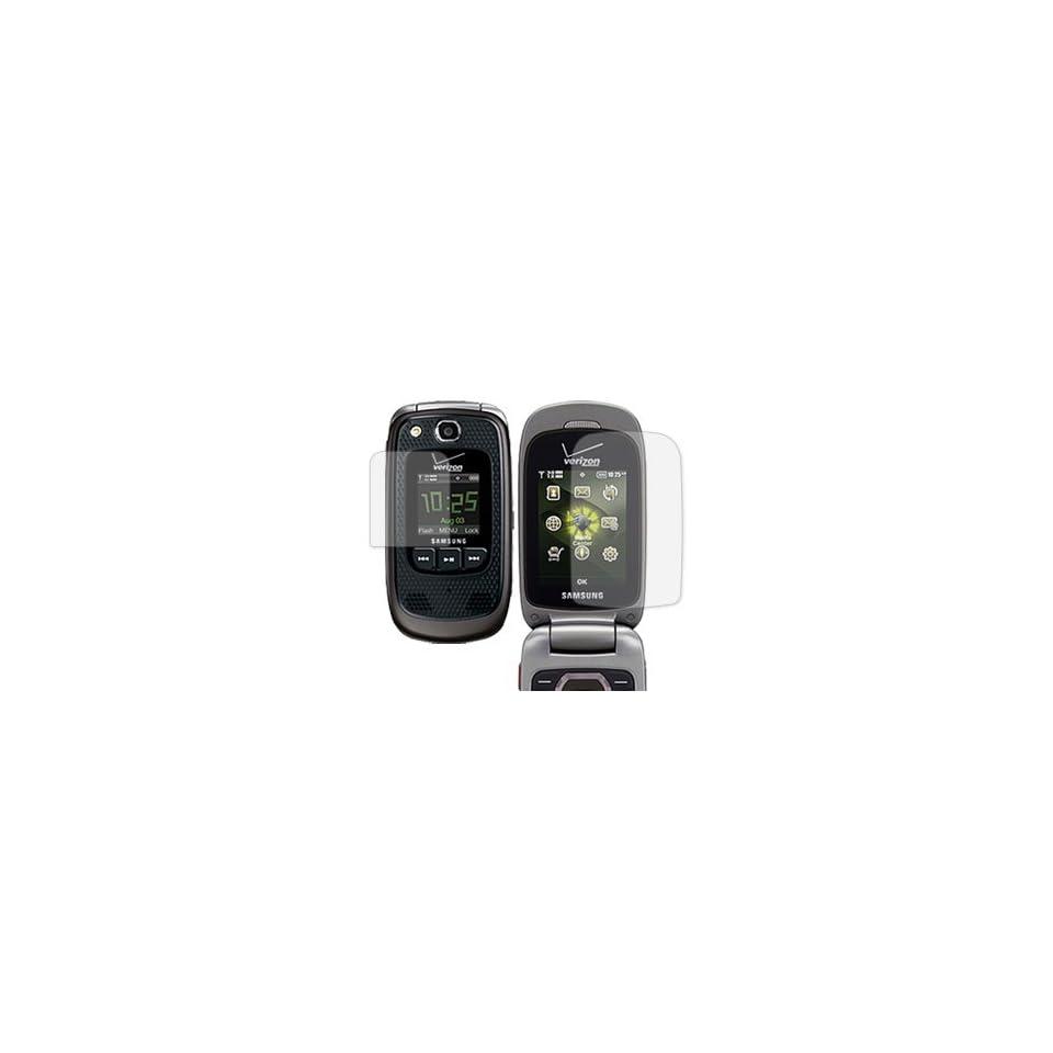 Samsung Convoy 2 Anti Glare Screen Protector (Samsung SCH U660) Cell Phones & Accessories