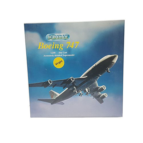 Schabak Boeing 747 Diecast 1 250 Scale Accurately Detailed Supermodel 851 127 Virgin Atlantic Airplane Replica