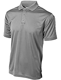 Men Anti-Wrinkle Moisture Wick Recon Jersey Polo Shirt