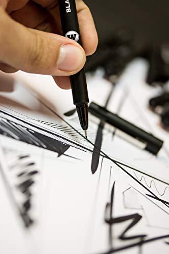 Molotow Blackliner Pen Complete Set, 11 Pens, 1 Set Each (200.485) by Molotow (Image #5)
