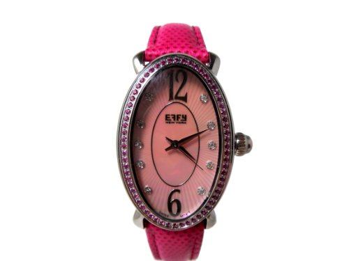 Effy Diamond Pink Sapphire Unisex Luxury New Unique Brand Exotic Watch - Watch Effy