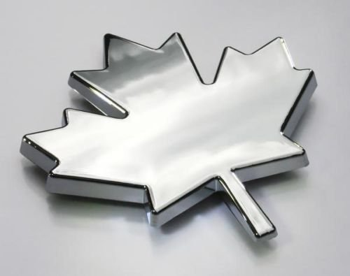 Maple Leaf Canada car auto bike chrome emblem by Car Chrome Decals