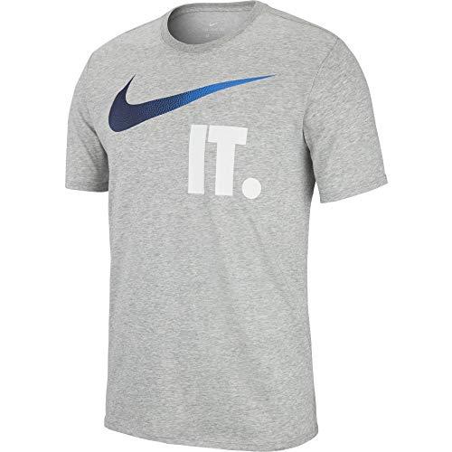 c c c shirt Fonc Check Homme Gris Tee It Dry M M M M t Nike Nk xqw8fYPn