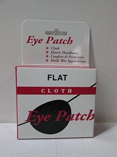 Eye Patch Flat Cloth, Large - 1 Ea
